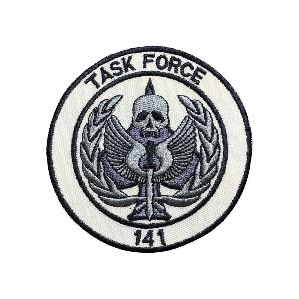 Task Force 141 Call of Duty Iron Sew on Embroidered Patch