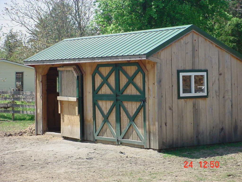 How to build small barn from scratch with small barn home for Mini barn plans