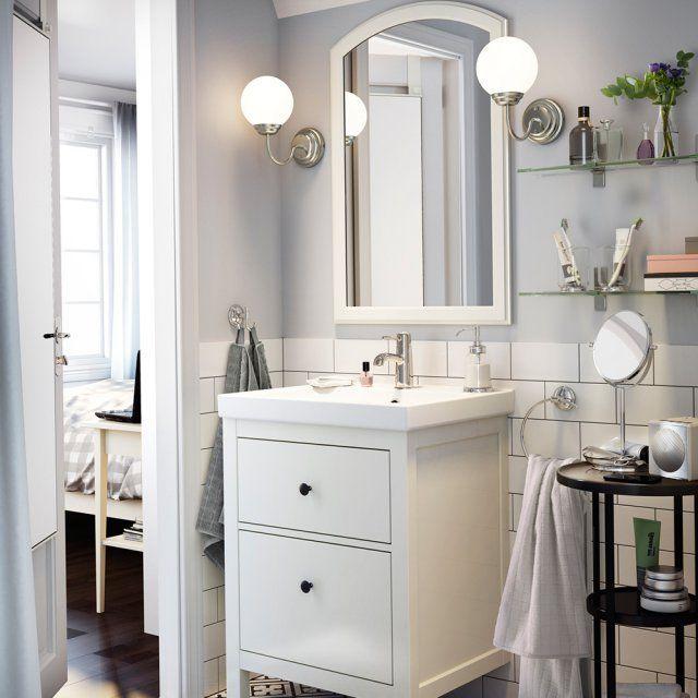 Petite salle de bains  6 bonnes idées à piquer chez IKEA