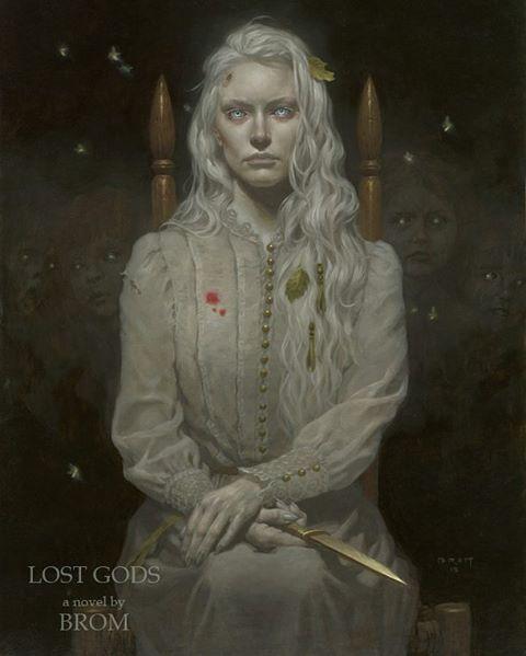 Lamia from my new novel LOST GODS. #brom #darkart