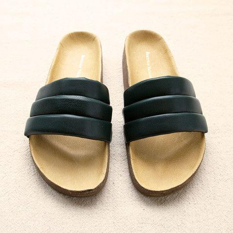 Leather Sandalia
