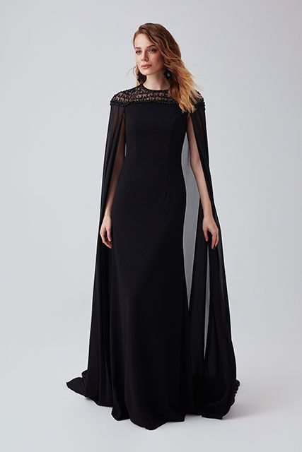 Glamouröse Schwarzes Abendkleid Lang 2019 | Abendkleid ...