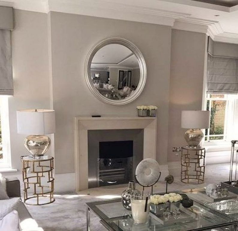 20 Round Mirror Over Fireplace Ideas You Can Try At Your Home Mirror Over Fireplace Mirror Above Fireplace Above Fireplace Ideas