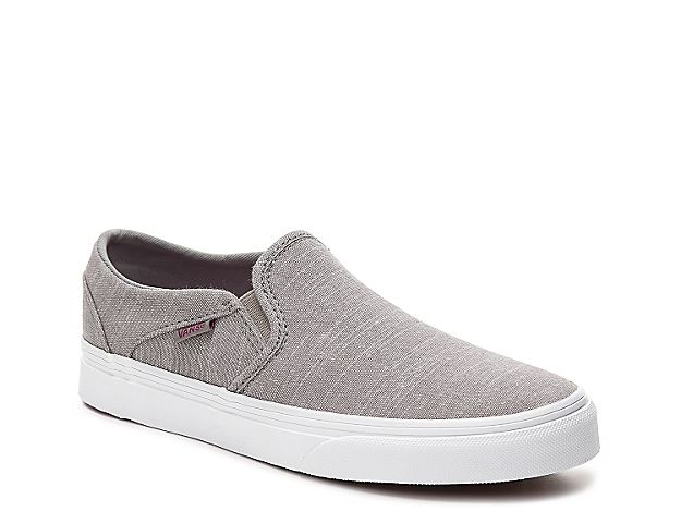 7e13184f74d Women Asher Chambray Slip-On Sneaker - Women s -Grey