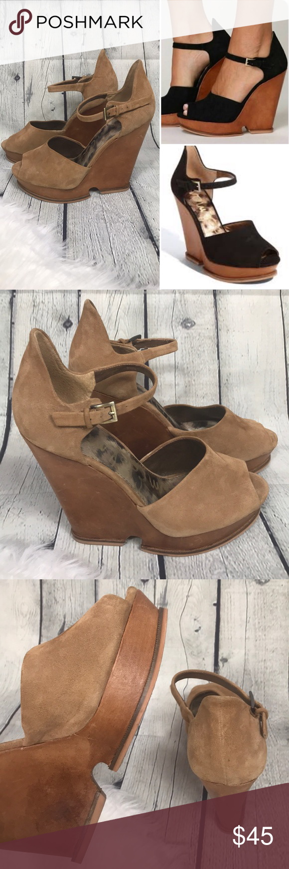 6d551764b ✨ Sam Edelman  Lavi wedge shoe✨ Sam Edelman wedge heel Color  brown