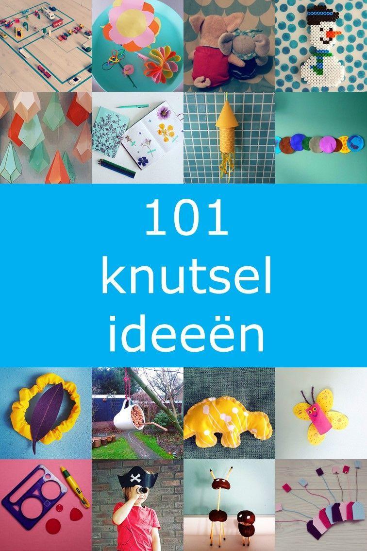 Wonderbaarlijk 101 ideeën om te knutselen met kinderen   Knutselen met peuters JU-35