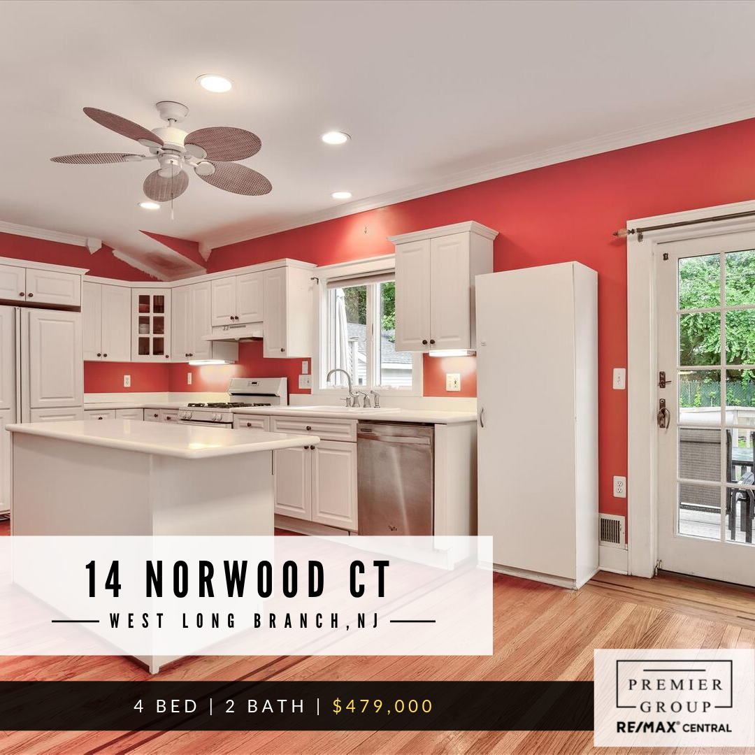 14 Norwood Ct, West Long Branch 🛏️ 4 Bed 🛁 2 Bath