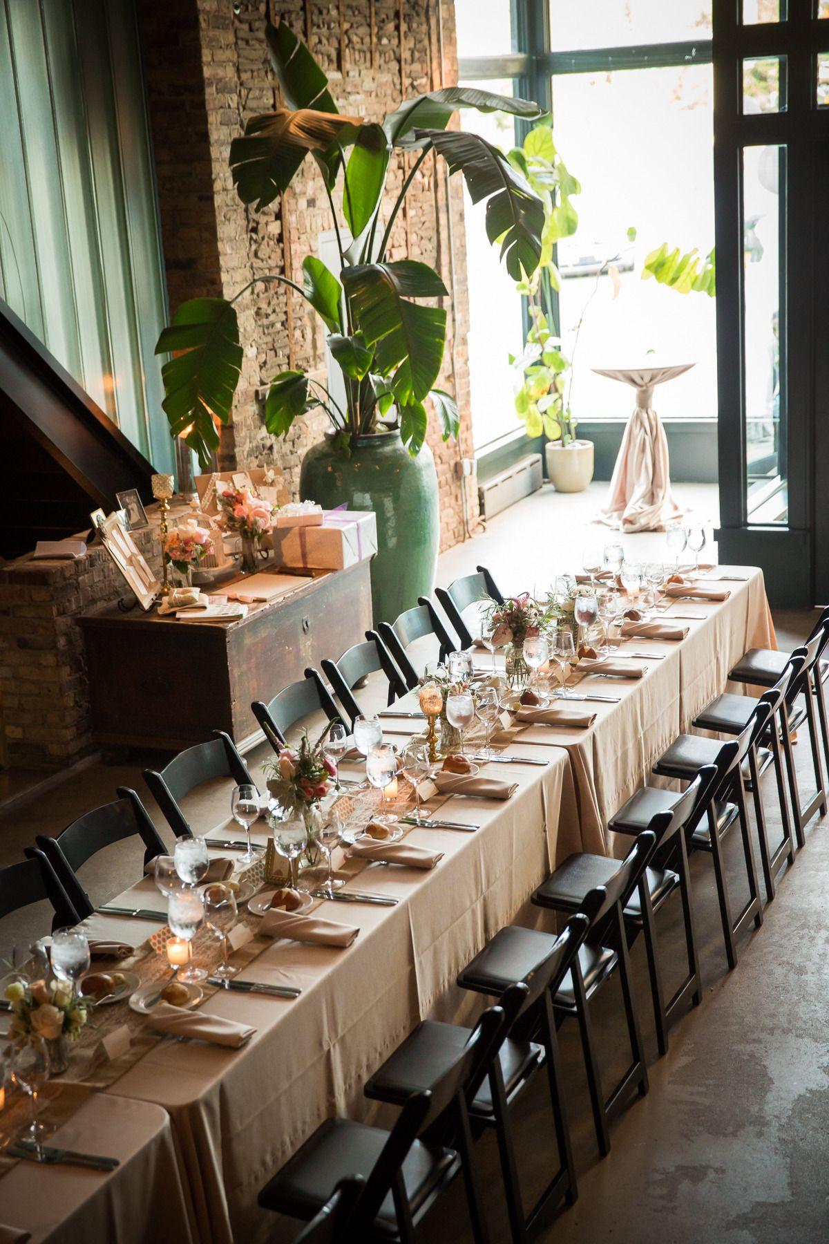Modern and Romantic Chicago Wedding Romantic chicago