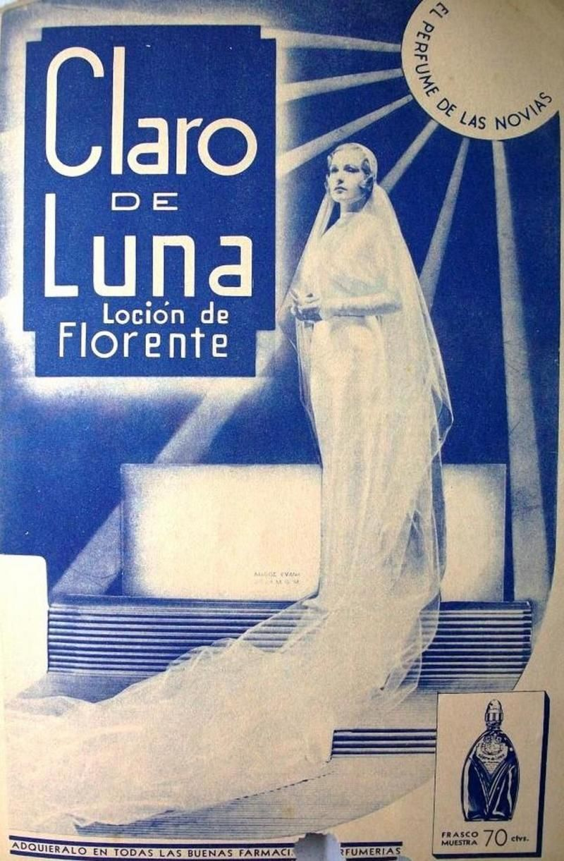 Claro de Luna Loción 1935