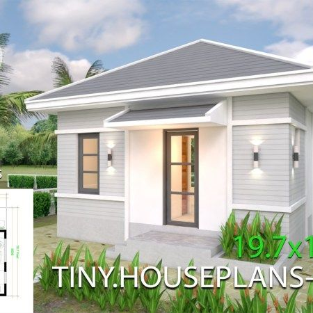 Small Home Design Plan 5 4x10m With 3 Bedroom Samphoas Plan Modern House Plans Home Design Plans Simple House Design