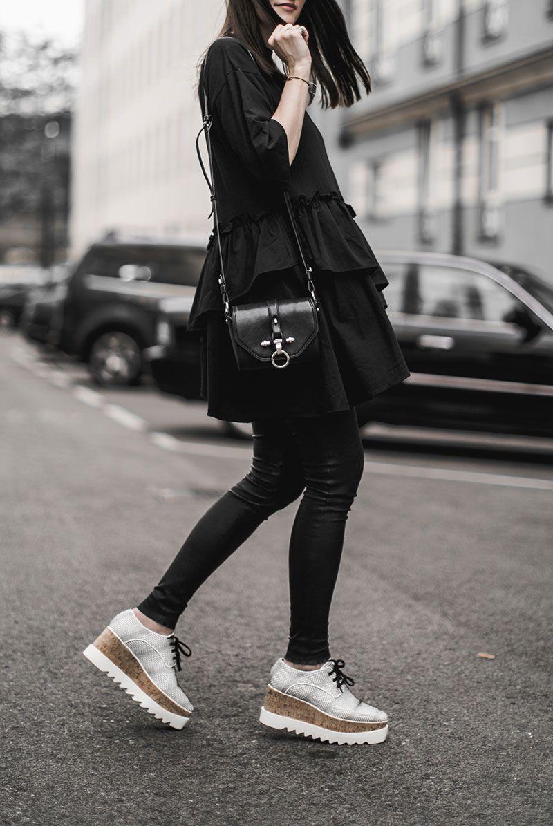 Stella McCartney Elyse brogue shoes X0Oygj