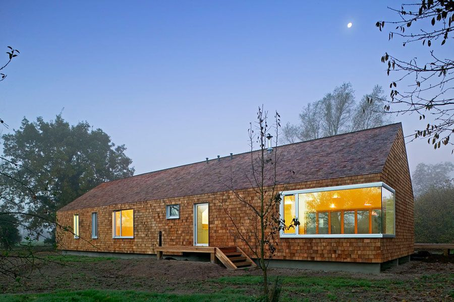 Beautiful HUDSON Architectsu0027 Cedar House, A New Build Private Residence In Norfolk ,  Pilots