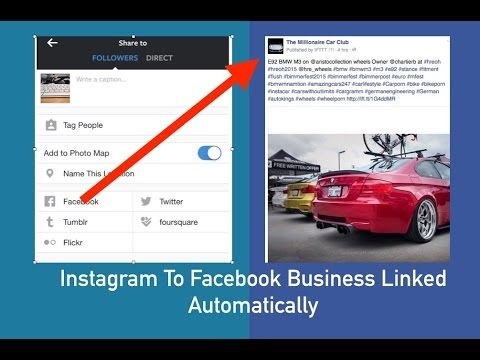 How to link instagram to a facebook business page social media how to link instagram to a facebook business page ccuart Gallery