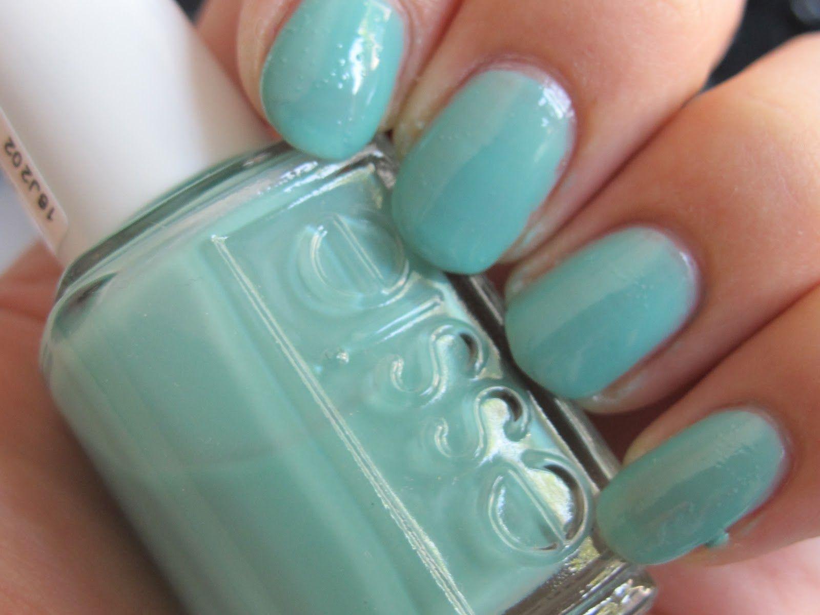 Essie Color: Turquoise & Caicos | My Makeup Bag | Pinterest
