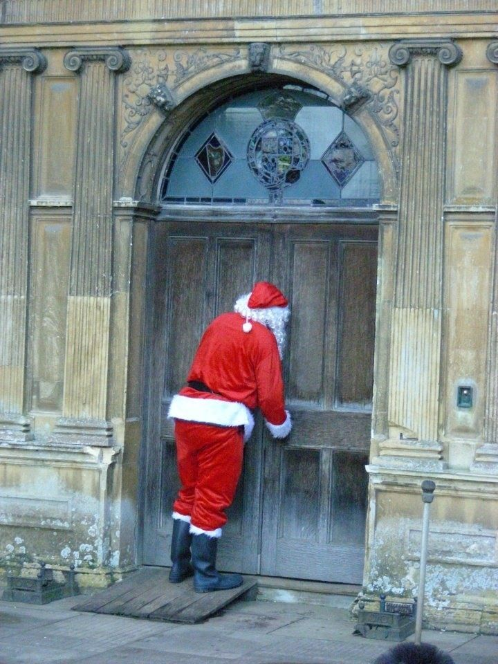 Anybody Home?  We can't find your chimney!.........CLEVER AND FUNNY!!!.......ccp