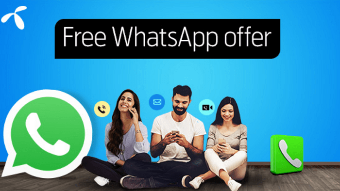 Telenor Free Whatsapp Monthly Offer 2gb Data Bundle 2020 In 2020