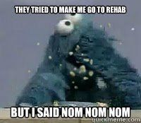 Just For Fun Cookie Monster Memes Monster Cookies Cookie Monster Funny Elmo And Cookie Monster
