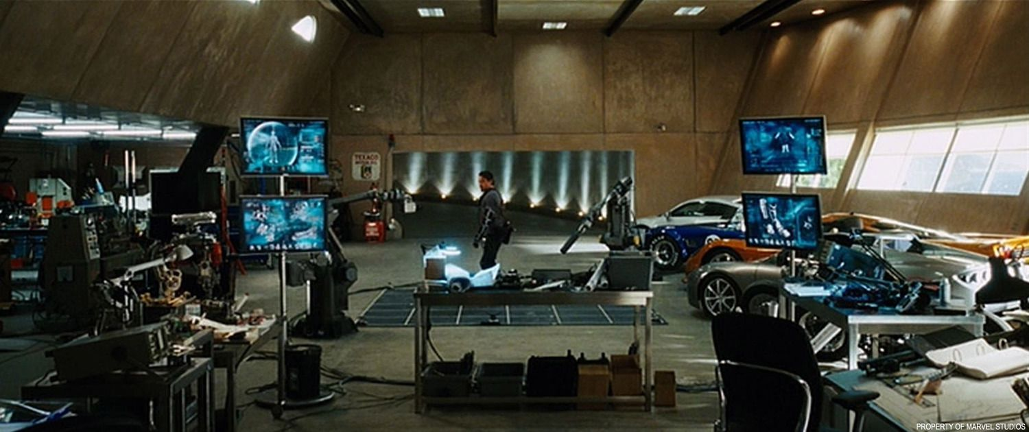 Tony Stark Basement