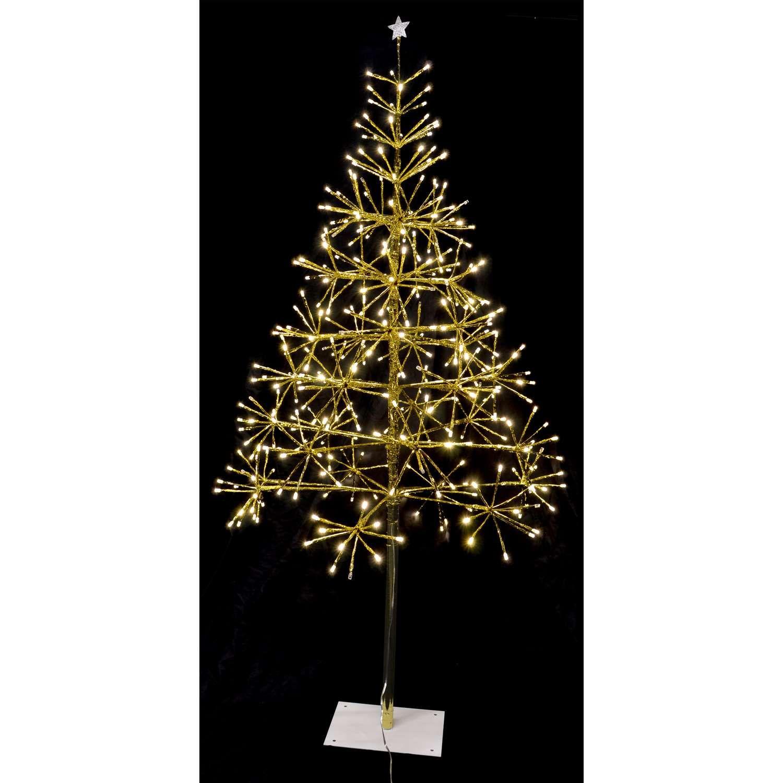 Celebrations Warm White Light Burst Twinkle Tree Yard Decor Ace Hardware In 2020 Yard Decor White Light Outdoor Christmas Decorations