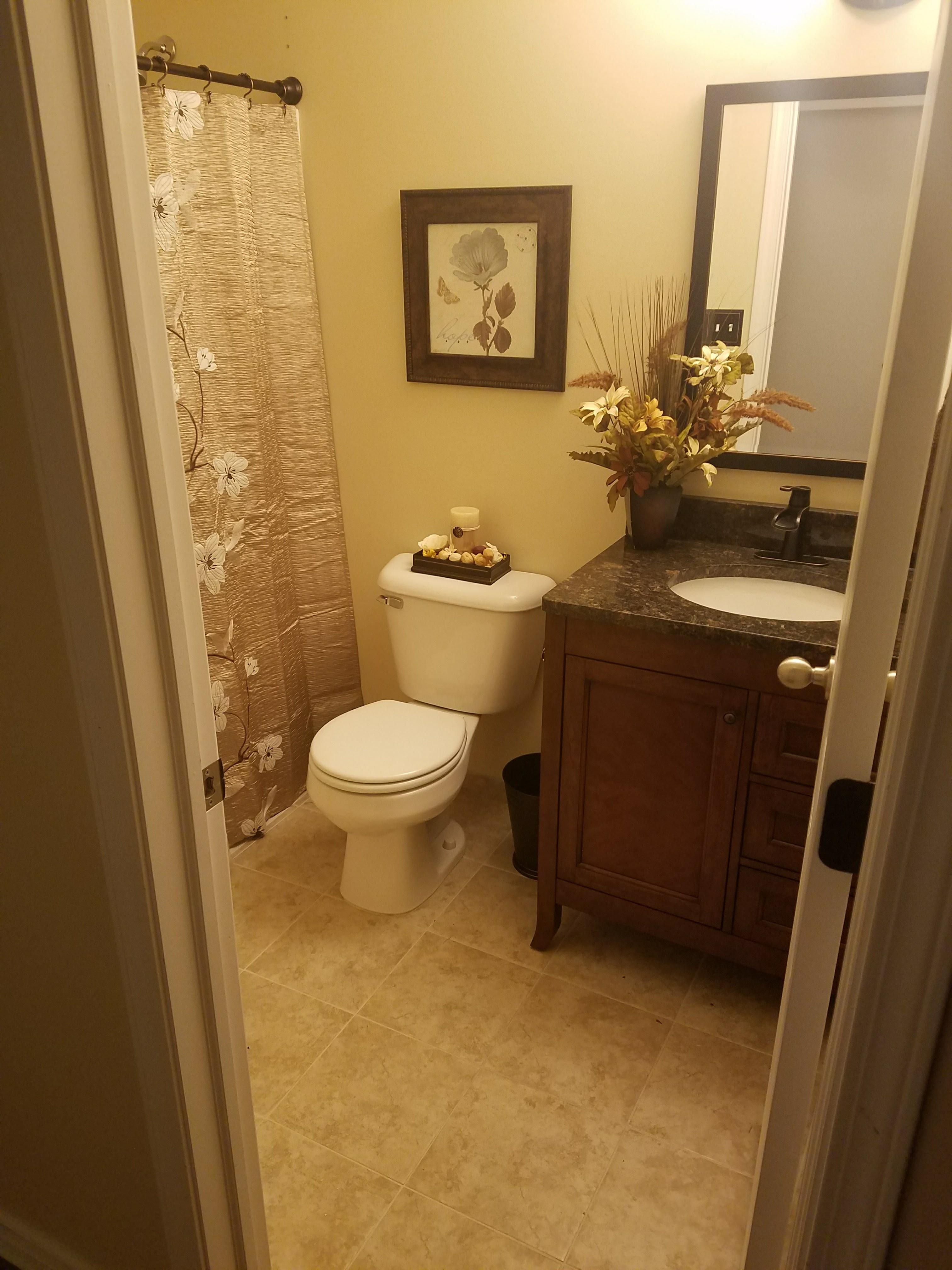 My First Bathroom Remodel This Took A Little Over Weeks Id - Tools for bathroom remodeling