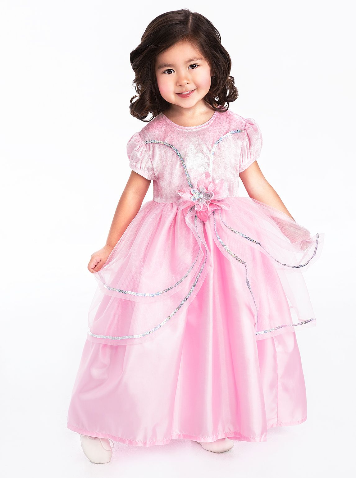 Vestido Princesa Rosa Royal http://www.bebebe.co/vestidos-para ...