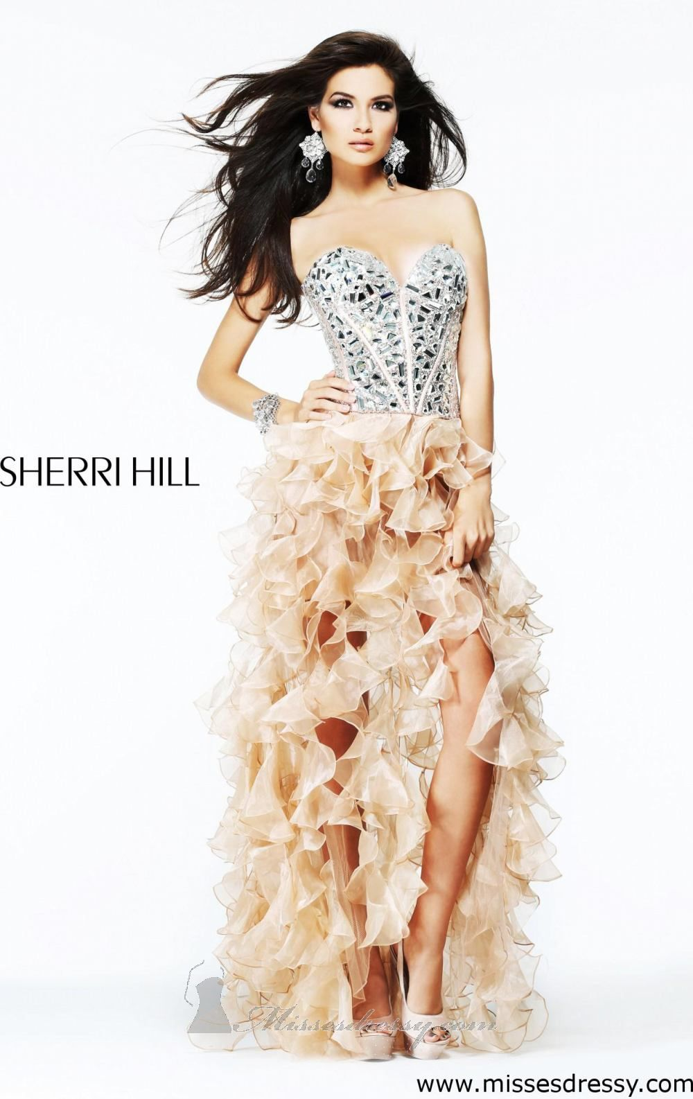 Strapless Sweetheart Dress by Sherri Hill | Frühling, Kleider und ...