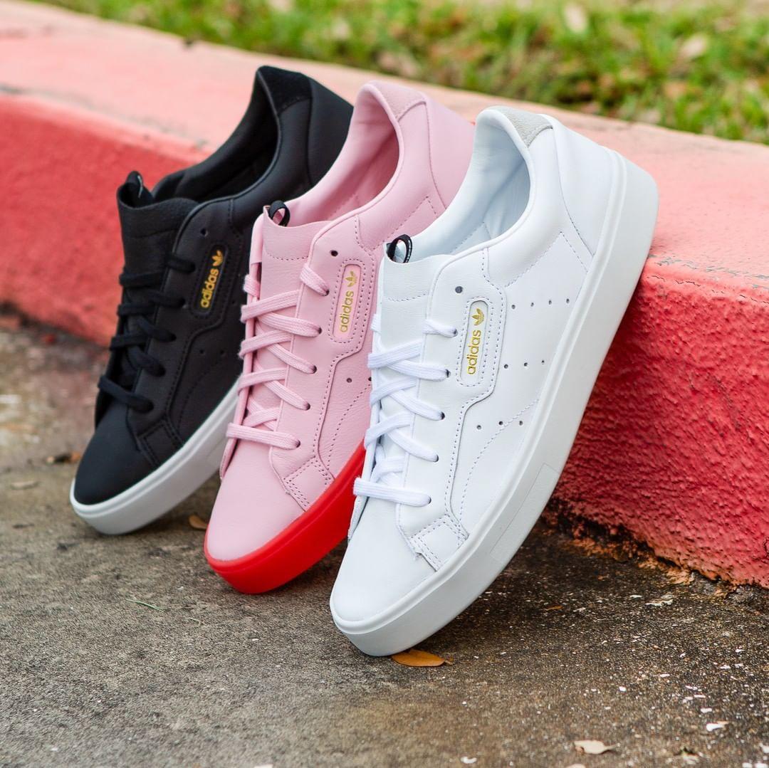 "desencadenar perrito Privilegiado  Champs Sports Women's on Instagram: ""Simple yet stylish...The adidas Sleek  is coming to stores this Thursday"" | Zapatillas, De moda, Zapatos"