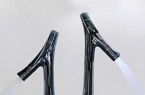 philippe starck and axor launch new faucet collection. Black Bedroom Furniture Sets. Home Design Ideas