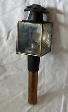 Elegant Antique Brass/Tin Coach Lamp Light Carriage Buggy Early Cars Lantern