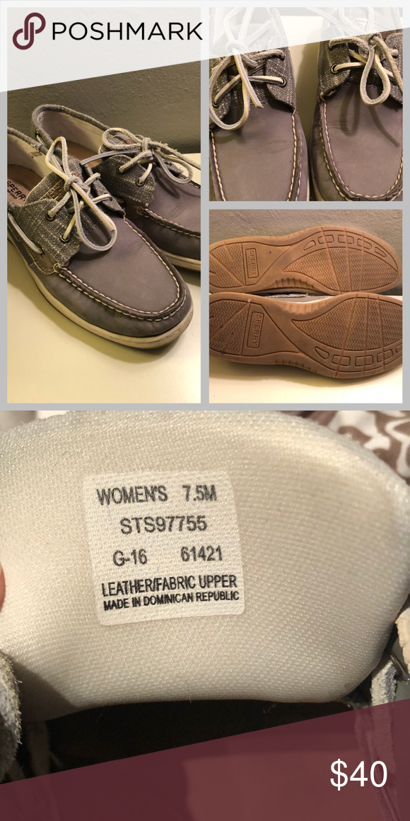 Sperry Top-Sider boat shoes size 7.5