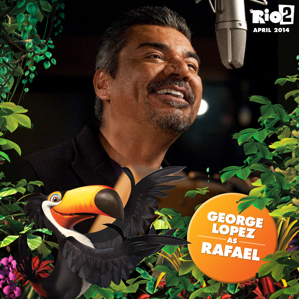 If Anyone Can Do It Toucan Rafael Returns To The Jungle In Rio2 Voiced By Georgelopez George Lopez Rodrigo Santoro Rio 2