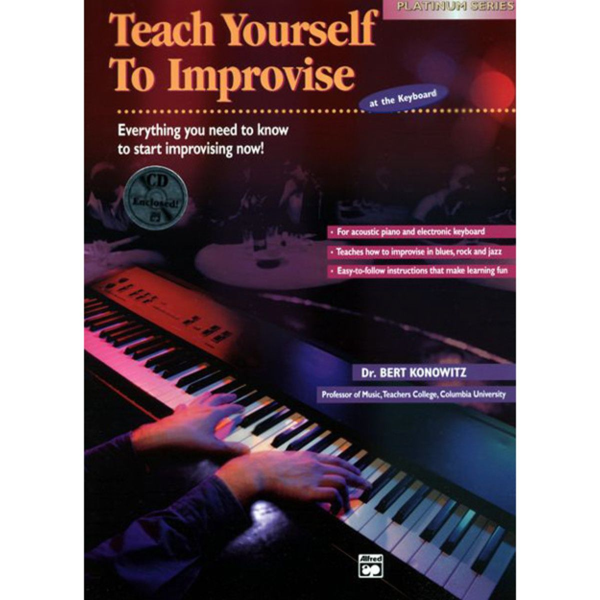 Alfred Teach Yourself To Improvise On Keyboard