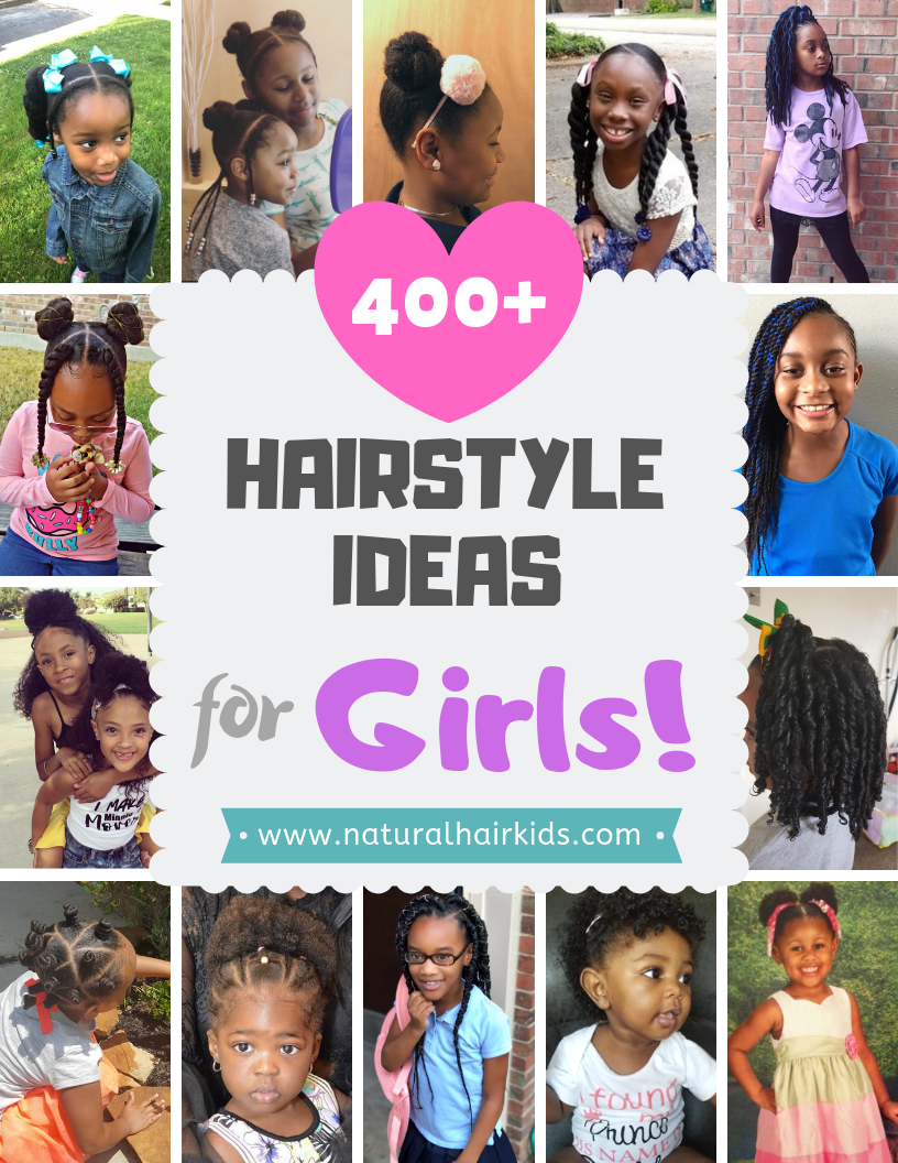 Pin on Elementary School Natural Hairstyles for kids