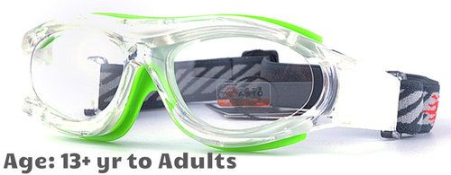 214b60f8fd  13+ yrs to Adults  Sports Goggles BL028 Clear Green (Prescription Rx  Lenses Available)