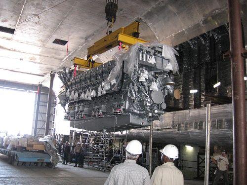 MTU 8000 | Diesel engines