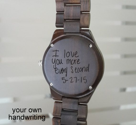 Father S Day Gift Watch Personalized Mens Watch Engraved Watch