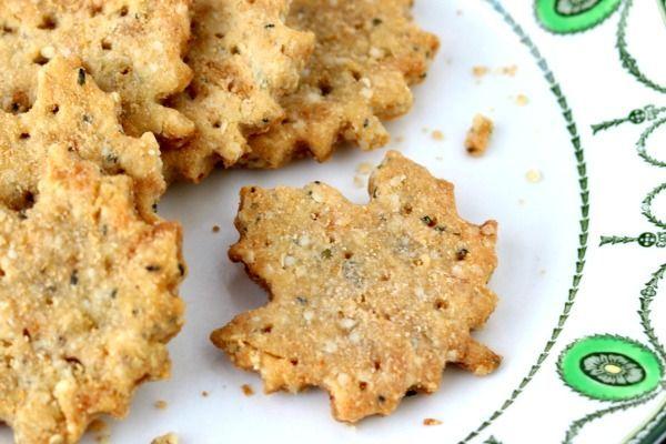Homemade Low Carb Crackers Recipe Homemade Crackers Recipe