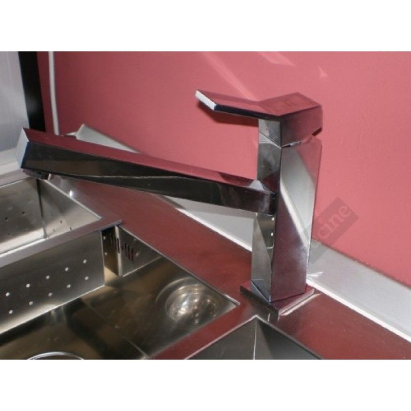 BLANCO-QUADRIS Miscelatore lavello cucina canna quadra http://www ...