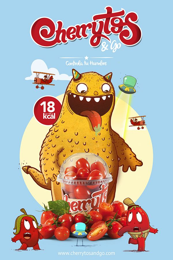 Cherrytos and go on Behance