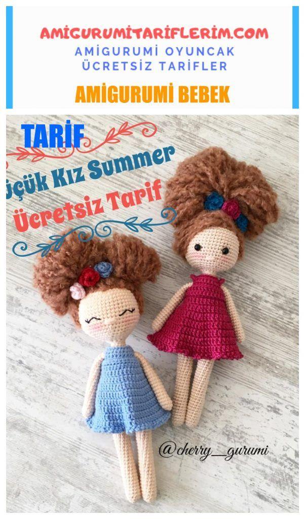 Amigurumi Bebek Küçük Kız Summer Yapımı - Amigurumi Tariflerim