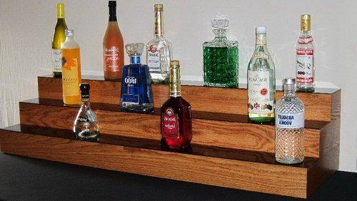 3 Tier Led Bar Shelf Display