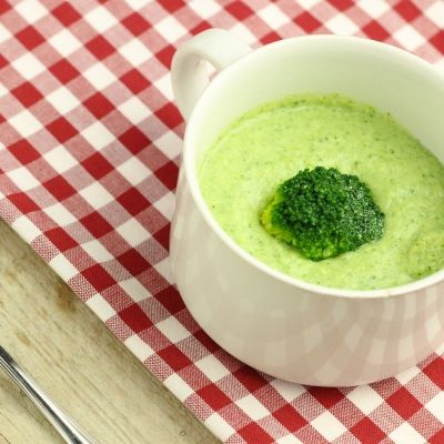 It's actually getting colder, and there is nothing better to warm up then a cup of soup. This broccoli soup is filled of vitamins of minerals.
