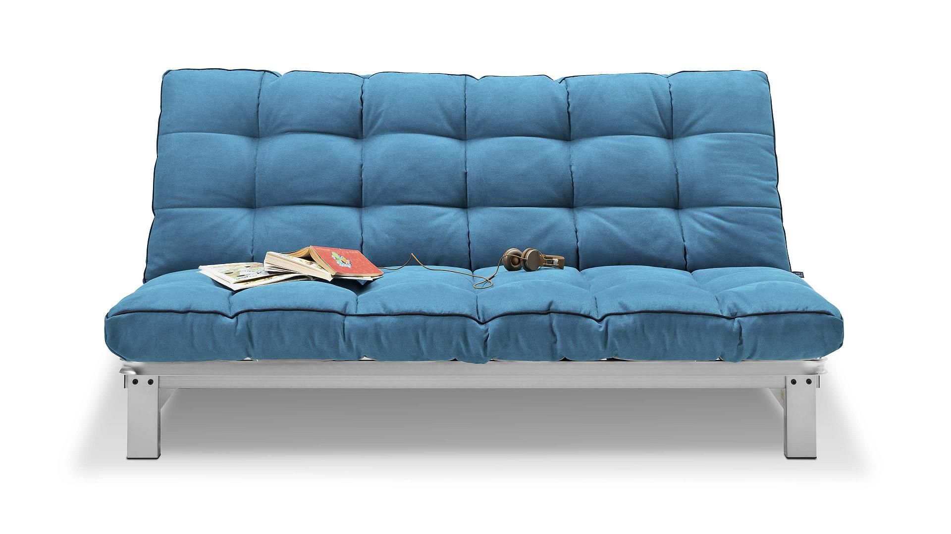 Inspirationen Kawoo Schlafsofa Verholt Aus Stoff Metall In Petrol In Trend Junges Wohnen Made In Germany Modern Kawo Sofa Upcycelte Mobel Junges Wohnen