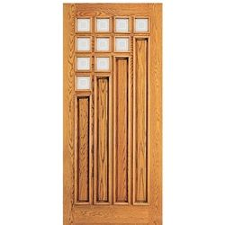 Comes Unstained This Color Wouldn T Be My Choice But I Love The Design Single Entry Doors Single Doors Art Deco Home