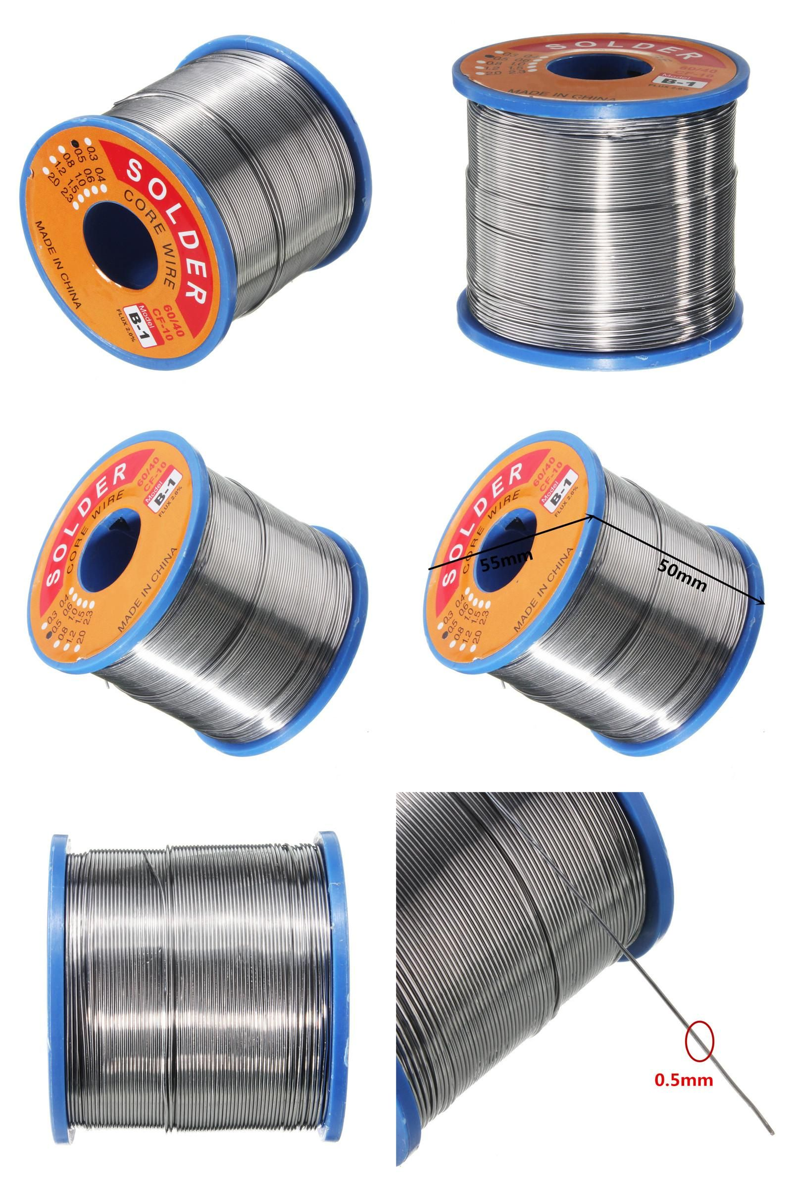 Visit To Buy 55 X 50 Mm Soldering Wire Tin Lead Line Rosin Core Flux Solder In Welding Iron Wires Reel 60 40 0 5mm 400g Ad Iron Wire Wire Reel Lead Lines