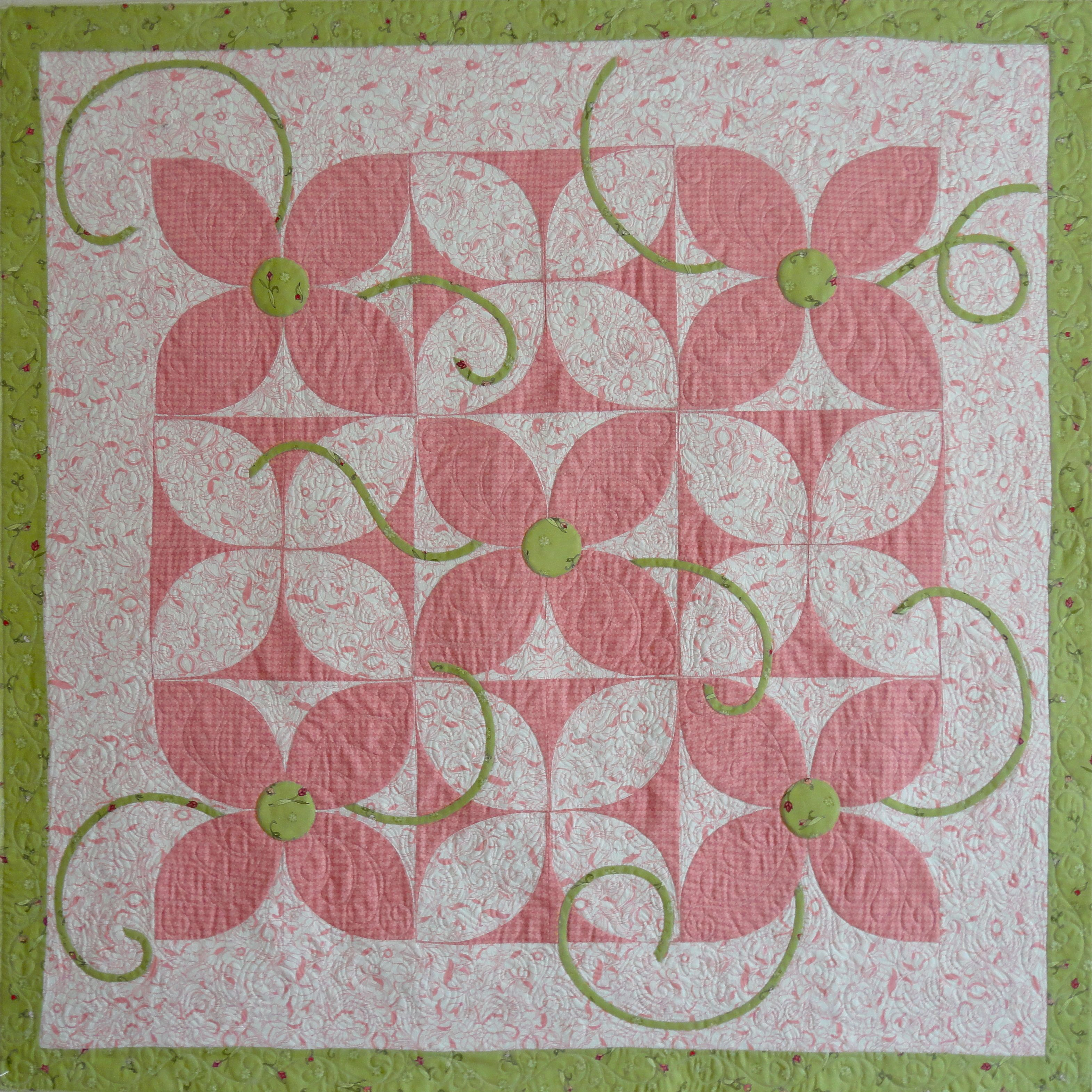 """""""Petal Pushers"""" from Home Sweet Quilt"""