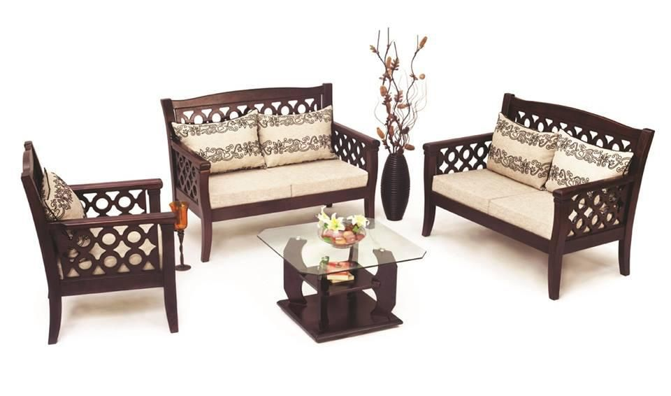 Wood Sofa Set Design Bd In 2020 Sofa Design Wood Wooden Sofa Set Wooden Sofa Designs