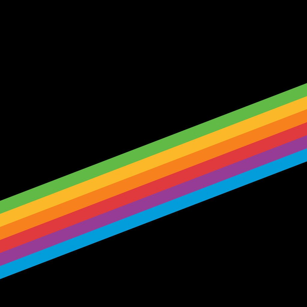 Rainbow wallpaper iphone