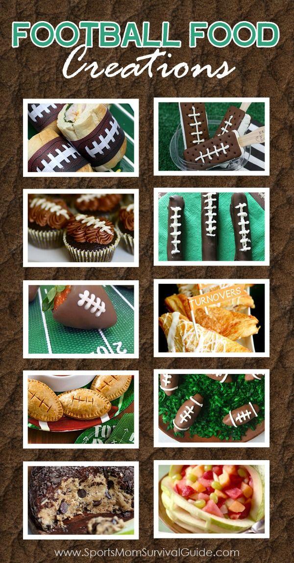 Fabulous Football Food Ideas