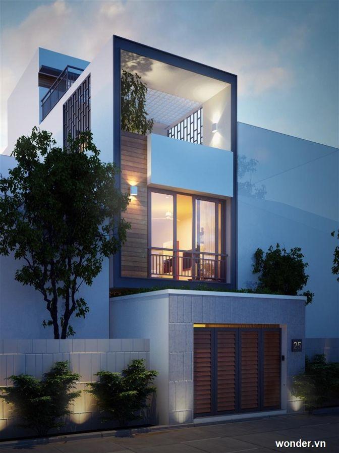 Hinh ảnh Dự An Nha đẹp Nguyễn Hồng Phượng Cải Tạo Trọn Goi Facade House Morden House House Front Design
